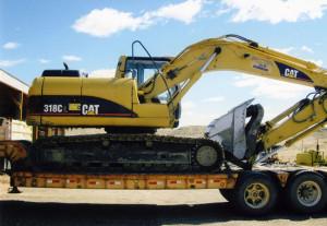 A Muggli CAT excavator